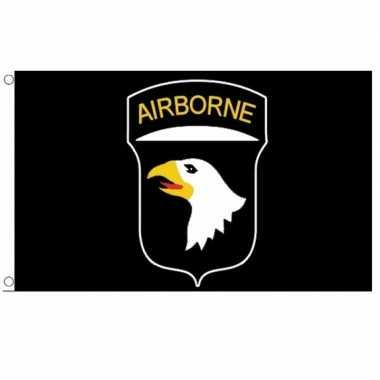 Amerikaanse  101st Airborne Division vlag 150 x 90 cm kopen