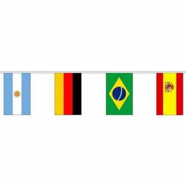 Amerikaanse  Internationale vlaggenlijn 10 meter kopen