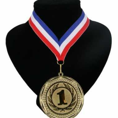 Amerikaanse  Kampioensmedaille aan rood wit blauw lint kopen