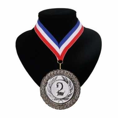 Amerikaanse kampioensmedaille nr. 2 aan rood wit blauw lint kopen