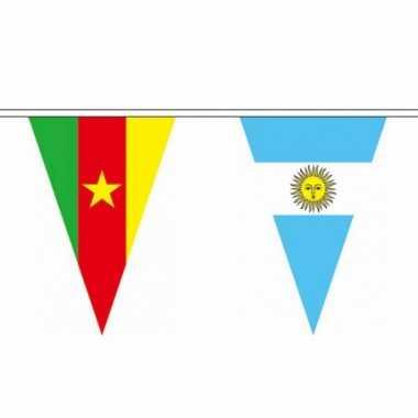 Amerikaanse  Landen vlaggenlijn 11 meter kopen