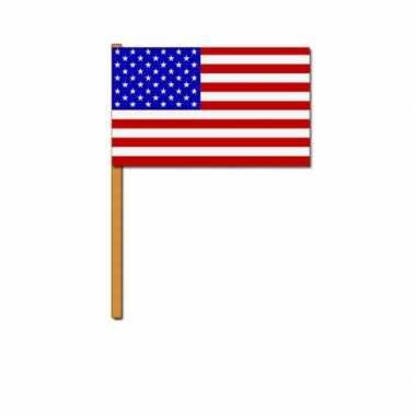 Amerikaanse  Luxe zwaaivlag Amerika kopen