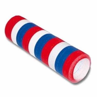 Amerikaanse serpentine rol rood/wit/blauw vlag nederland/holland kopen