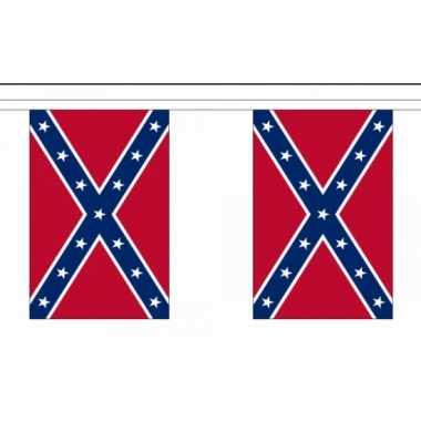 Amerikaanse  USA zuidelijke staten vlaggenlijn 9 meter kopen