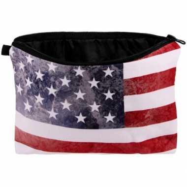 Etui Amerikaanse vlag 20 x 14 kopen