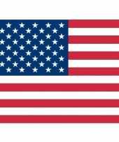 Amerikaanse 20x vlag usa amerika stickers 10 cm kopen