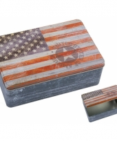 Amerikaanse usa bewaarblik 20 cm kopen