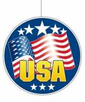 Amerikaanse usa hangdecoratie 28 cm kopen