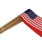 Amerikaanse vlaggetje u s a 50 st kopen